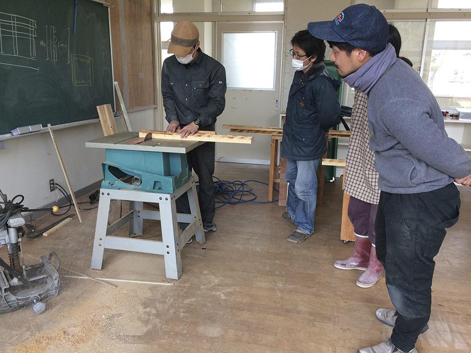 カワバタさんの木工WS
