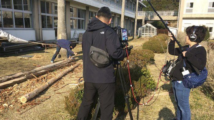 KTS(鹿児島テレビ放送)が取材に来たよ!