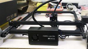 レーザーカッターが来たよ! smartlaserminiを組み立てる