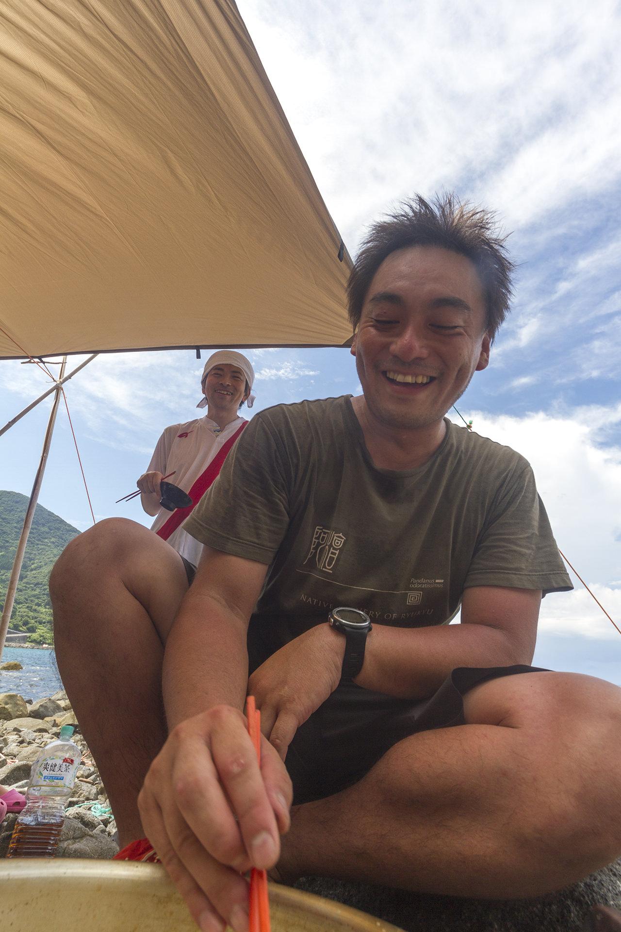 リターンキャンプ、3回目。台風来てても遊べる海がある南さつま!編