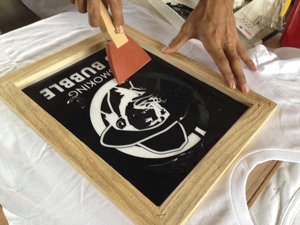 オリジナルTシャツをカッティングプロッタ&シルクスクリーンで作る!