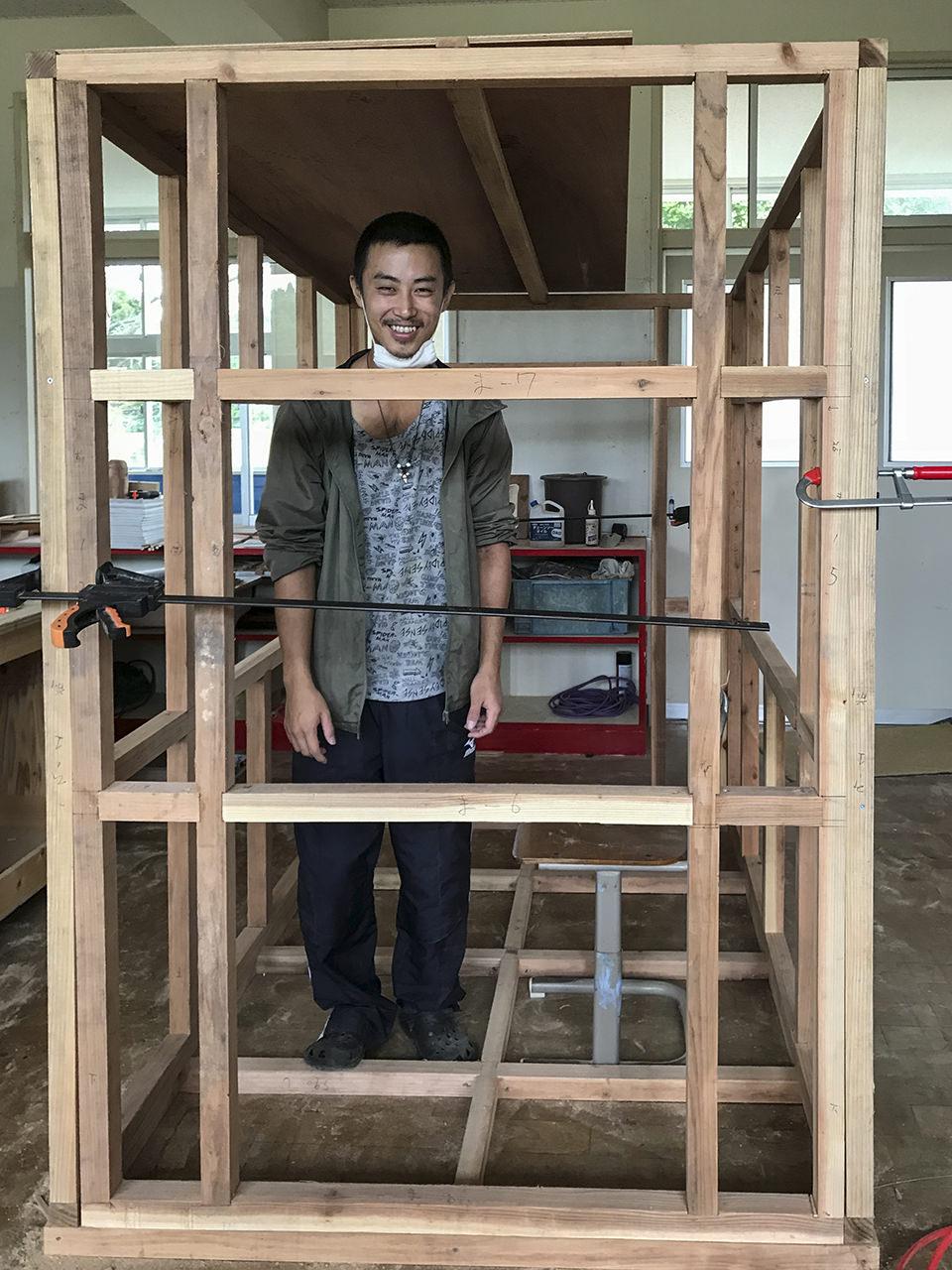 ダイナミックラボでモバイルハウスを作ろう