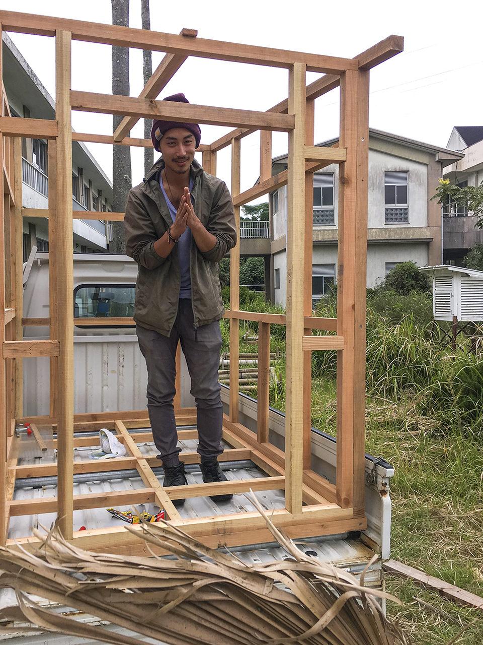 モバイルハウスを作ろう!(松本さんの場合)その2