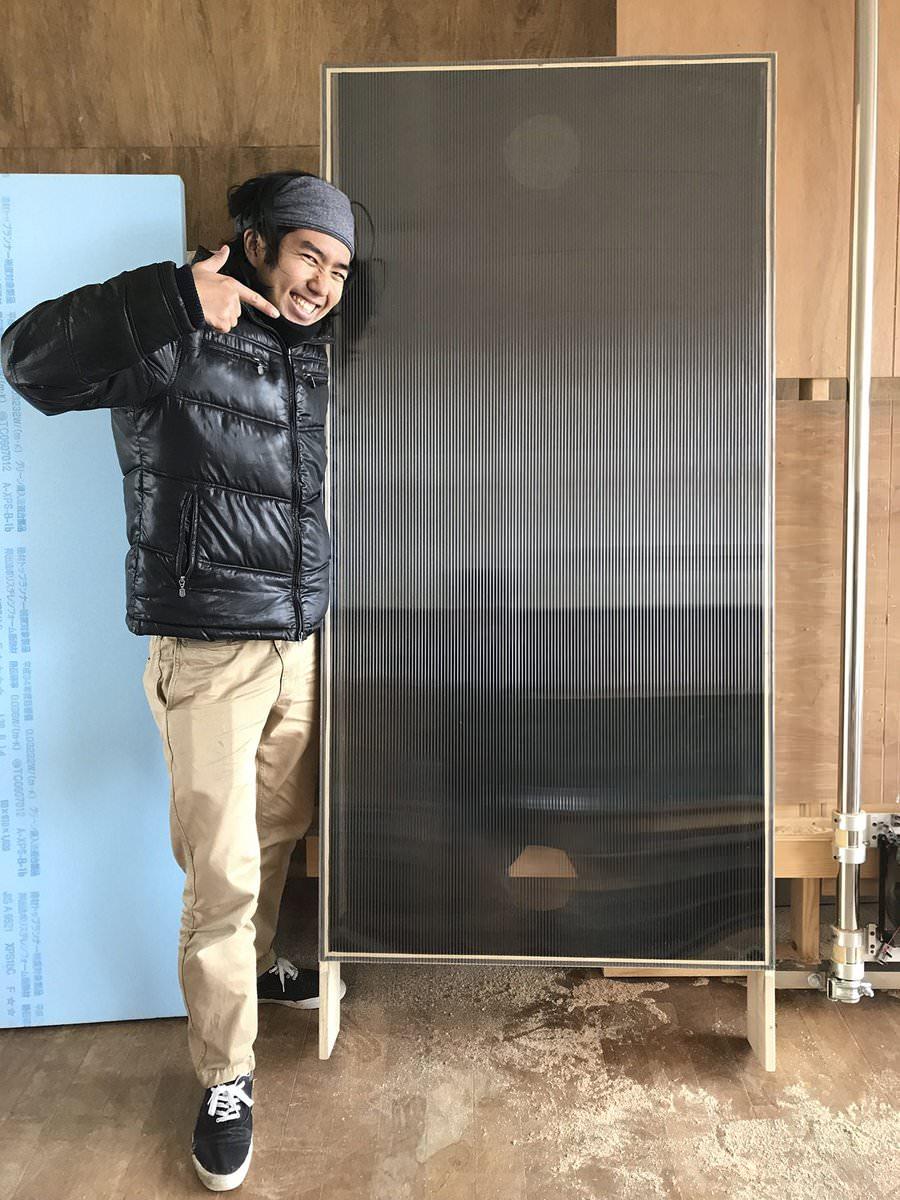 電気のいらないエアコンクラスの暖房!ソーラーウォールを作る!