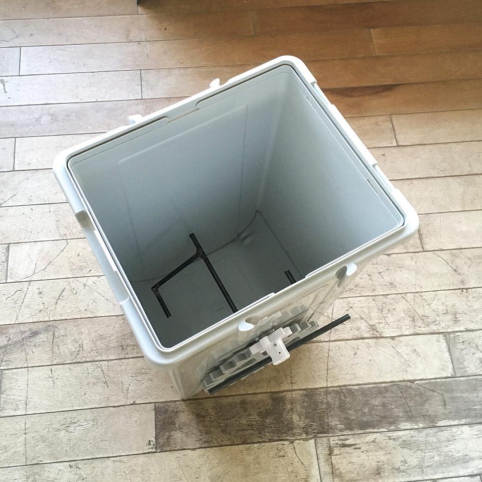 オープンソースコンポストトイレ試作 01、一旦完成!