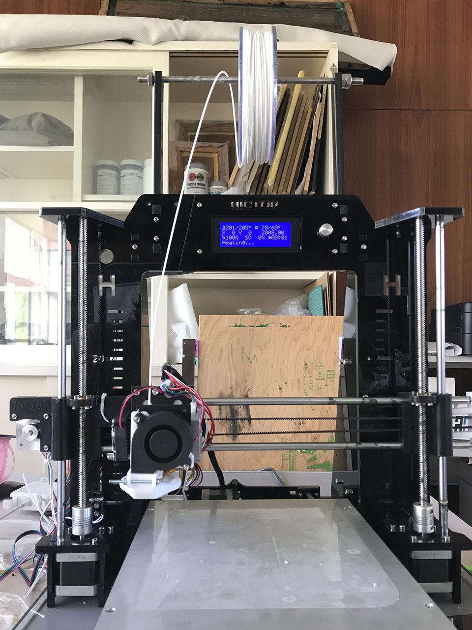 3Dプリンタ HICTOP / 3DP-08でフィラメント「LFY3M」を使う